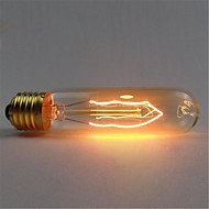 billige Glødelampe-110 / 220v t10 retro atmosfære Edison wolfram silke lyspære 1 stk