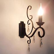 tanie Kinkiety Ścienne-Nowoczesny / współczesny / Tradycyjny / Classic Lampy ścienne Metal Światło ścienne 110-120V / 220-240V 45 W / E14 / E12