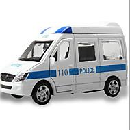 Autíčka Hračky Stavební stroj Policejní auto Sanitka Hračky Obdélníkový Kov Pieces Dárek