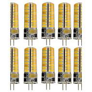 tanie Więcej Kupujesz, Więcej Oszczędzasz-10pcs 3W 250-300 lm G4 Żarówki LED bi-pin T 72 Diody lED SMD 5730 Dekoracyjna Ciepła biel Zimna biel AC 110-130V