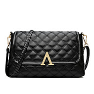 Women Bags All Seasons PU Shoulder Bag for Event/Party Casual Office & Career Black
