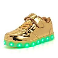 Para Meninos-Tênis-Primeiros Passos Light Up Shoes Shoe luminous-Salto Baixo--Couro Ecológico-Ar-Livre Casual Para Esporte