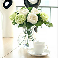 billiga Heminredning-Konstgjorda blommor 1 Gren Europeisk Stil Roser Bordsblomma