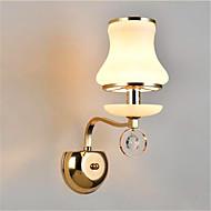 Ac 220-240 5 e14 modern / çağdaş elektrokaplama özelliği kristal için led mini tarzı göz koruma çevre ışığı led duvar ışıkları