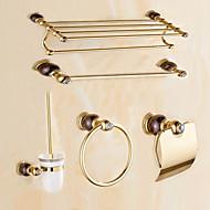 Banyo Aksesuarları Seti / Altın Çağdaş