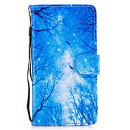 billiga Mobil cases & Skärmskydd-fodral Till Huawei Honor 7 / Huawei P9 Lite / huawei Y560 Plånbok / Korthållare / med stativ Fodral Träd Hårt PU läder för Huawei P9 Lite / P8 Lite (2017) / Honor 8