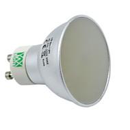 billige Spotlys med LED-YWXLIGHT® 6 W 400-500 lm GU10 / GU5.3(MR16) LED-spotpærer MR16 128 LED perler SMD 3014 Mulighet for demping / Dekorativ Varm hvit /