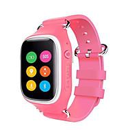 tanie Inteligentne zegarki-Zegarki dziecięce GPS Wodoszczelny Krokomierze Rejestr ćwiczeń Wielofunkcyjne Kontroler głośności Odbieranie bez użycia rąk Długi czas