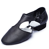 Women's Dance Shoes Leather Ballet Flats Flat Heel Performance