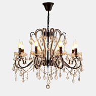 cheap Ceiling Lights & Fans-LightMyself™ Chandelier Ambient Light - Crystal LED, Rustic / Lodge Vintage Country Traditional / Classic Retro Modern / Contemporary,