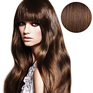 20PCS Tape In Hair Extensions #4 Medium Brown Chocolate Brown 40g 16Inch 20Inch 100% Human Hair For Women