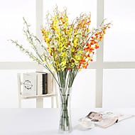 お買い得  コサージュ & 植物-10 ブランチ シルク ラン テーブルトップフラワー 人工花