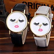 Mulheres Relógio de Moda Relógio de Pulso Único Criativo relógio Relógio Casual Chinês Quartzo / Colorido Couro Banda Brilhante Casual