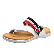 Men's Slippers & Flip-Flops Spring Summer Fall Comfort Cowhide Outdoor Athletic Dress Casual Upstream shoes