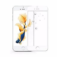 Para apple iphone 7plus tela cheia coberta de fibra de carbono filme de vidro temperado 9 h 2.5d não quebrado bordas protetor de tela de