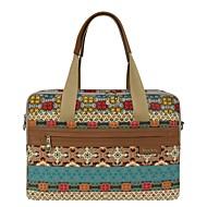 hesapli -Kadın's Çantalar Kanvas Omuz çantası Tema / Baskı için Günlük Ofis ve Kariyer Tüm Mevsimler Maron