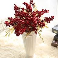 1 Afdeling Polystyrenskum Plastik Planter Bordblomst Kunstige blomster
