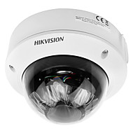 billige Innendørs IP Nettverkskameraer-hikvision® ds-2cd1741fwd-i 4mp ip-kamera med 128gb (2,8-12mm manuell vari-focal poe ip67 ik10 30m ir)