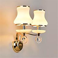 זול נורות קיר LED-Ac 220-240 10w e14 מודרני / עכשווי electroplated תכונה עבור קריסטל הוביל מיני בסגנון העין הגנה הוביל אורות קיר