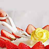 tanie Przybory do pieczenia-Narzędzie do dekorowania Cupcake Tort Stal nierdzewna Plastikowy DIY