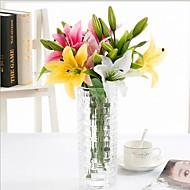 billige Kunstig Blomst-Kunstige blomster 4.0 Afdeling Moderne Stil Liljer Bordblomst