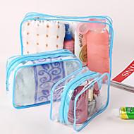 Reisekosmetiktasche Reisekoffersystem Kosmektik & Make-up-Tasche Wasserdicht Staubdicht Klappbar Kulturtasche Hygieneartikel Dick für