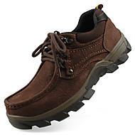 للرجال أحذية رسمية جلد خريف / شتاء أوكسفورد أسود / بني فاتح / الحفلات و المساء