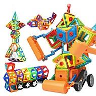Magnetisk blok Byggeklodser Pædagogisk legetøj 168 pcs Robot Entreprenørmaskiner Magnetisk GDS Uddannelse Drenge Pige Legetøj Gave