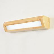 tanie Oświetlenie lustra-Nowoczesny / współczesny Oświetlenie łazienkowe Drewno / Bambus Światło ścienne IP20 110-120V / 220-240V 5 W / LED zintegrowany