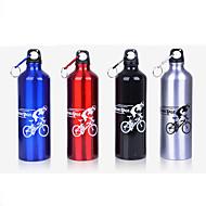 Bisiklet Su Şişeleri Bisiklet Dağ Bisikleti Yol Bisikleti Katlanır bisiklet Siyah Gümüş Kırmızı Mavi Alüminyum Alaşım