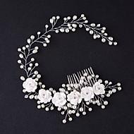 ieftine Accesorii Păr-tiaras păr pieptene flori căști stil clasic feminin