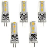 baratos Luzes LED de Dois Pinos-5pçs 3 W 400 lm Luminárias de LED  Duplo-Pin T 18 Contas LED SMD 3014 Branco Quente / Branco Frio 85-265 V / 5 pçs