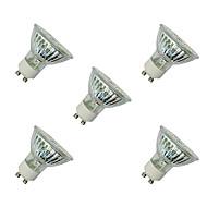3W LED-spotpærer MR16 60 SMD 3528 280-320 lm Varm hvit Hvit V 5 stk.
