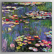 Hand-Painted   Oil Painting  Claude Monet Waterlilies