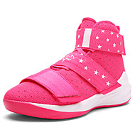 Basketball Shoes Men's Athletic Shoes Comfort Tulle Summer Fall Outdoor Athletic Casual  Split Joint Lace-up Flat HeelBlack/Yellow Blushing Pink