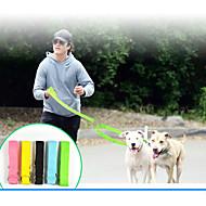 犬 安全用具 ソリッド ナイロン イエロー グリーン ブルー ピンク ブラック