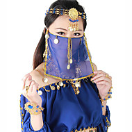 Belly Dance Veil Women's Performance Polyester Sequin Veil