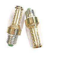 7W E14 E27 LED-kornpærer 60 SMD 2835 600 lm Varm hvit Hvit AC 220-240 V 2 stk.