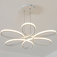 Pendant Light ,  Modern/Comtemporary White Feature for Dinmable Aluminum Living Room Bedroom Dining Room 1 Bulb