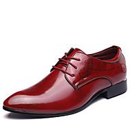 Masculino sapatos Couro Primavera Verão Outono Inverno sapatos Bullock Sapatos formais Botas da Moda Oxfords Caminhada Combinação Para