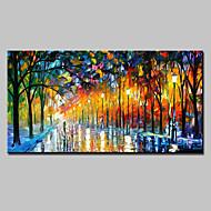 tanie -Ręcznie malowane Krajobraz Poziomy, Fason europejski Nowoczesny Brezentowy Hang-Malowane obraz olejny Dekoracja domowa Jeden panel