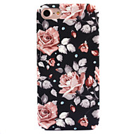 Etui Til Apple iPhone 8 iPhone 8 Plus Mønster Bagcover Blomst Hårdt PC for iPhone 8 Plus iPhone 8 iPhone 7 Plus iPhone 7 iPhone 6s Plus