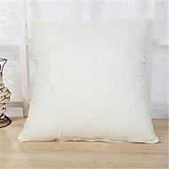 1 PC 45 * 45センチメートル純色のリネンのスカーフ柔らかいクッションの家の装飾