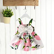 Dijete Djevojčice Pamuk Vikend Kratkih rukava Bluza Cvijetan Blushing Pink Bijela