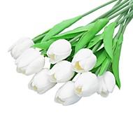 billige Kunstig Blomst-Kunstige blomster 5 Afdeling minimalistisk stil Tulipaner Bordblomst