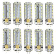 tanie Więcej Kupujesz, Więcej Oszczędzasz-10pcs 3W 180 lm G4 Żarówki LED bi-pin T 81 Diody lED SMD 3014 Ciepła biel Zimna biel AC 85-265V