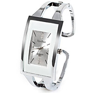 cheap -Women's Ladies Fashion Watch Unique Creative Watch Quartz Silver Rhinestone Imitation Diamond Analog Casual Bangle - White One Year Battery Life / SSUO LR626