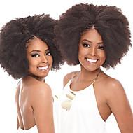 """Afro Kinky prýmky Vlasové copánky Afro 14"""" 16"""" 100% kanekalon vlasy Jahodový blond Medium Auburn Tmavá kaštanová Burgundská fialová Černá"""