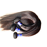 Wholesale 1kg 10Bunldes 10A Peruvian Virgin Hair Silk Straight Natural Human Hair Weaves Material From One Donor Color Natural Beautysister Supplier