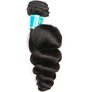 Vinsteen Vietnamese Virgin Hair Loose Wave 1 Bundle Medium Human Hair Weaves Natural Color Hair Extensions Silky Double Wefts Human Hair Weave